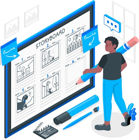 What is an explainer video story board